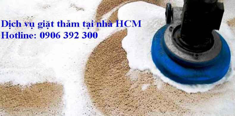 Dịch vụ giặt thảm tại nhà ở HCM