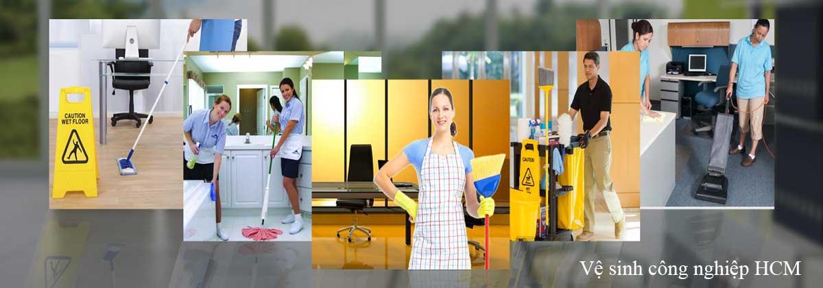Dịch vụ vệ sinh công nghiệp HCM