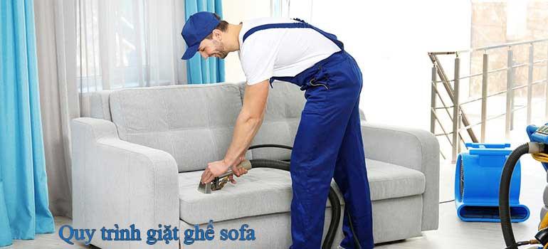Quy trình giặt ghế sofa tại nhà chuyên nghiệp