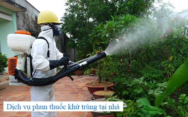 Dịch vụ phun thuốc khử trùng tại nhà