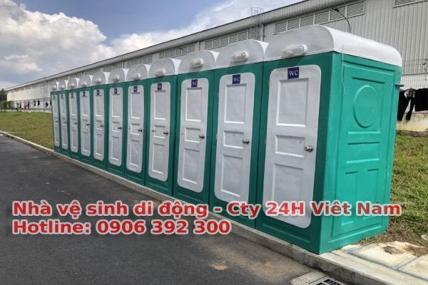 Thuê nhà vệ sinh di động tại HCM